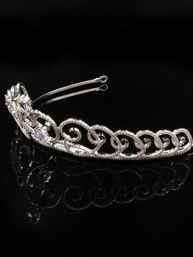 Hollow Crown Heart-shape Fashion Women Hair Accessories