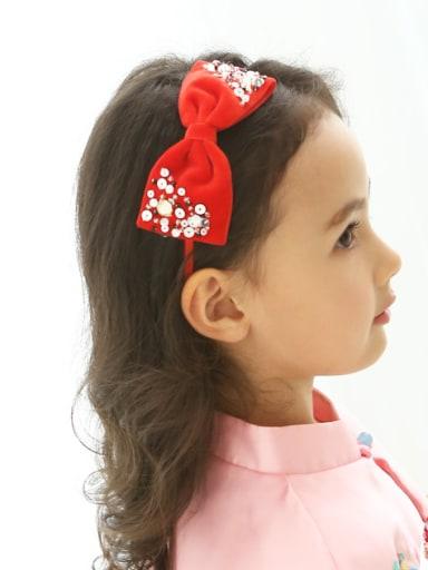 Wish velvet bow hoop 70917 full beauty children headdress features handmade children hair