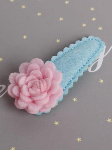 Cloth Flower Hair clip