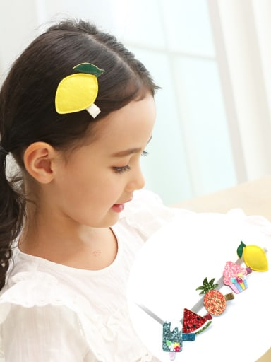 Colorful Fruit Hair clip