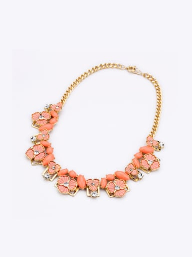 Flower Pendant Women Necklace