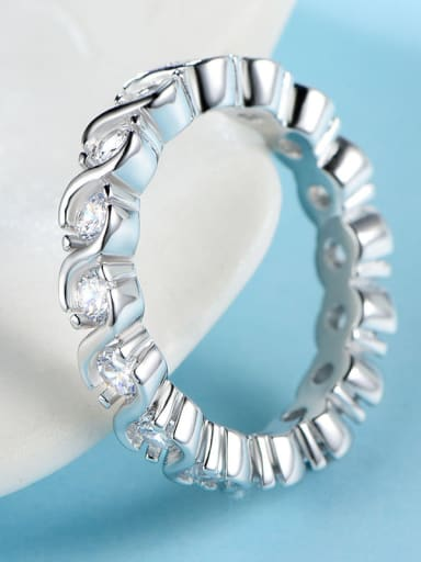 925 Silver Zircon Ring