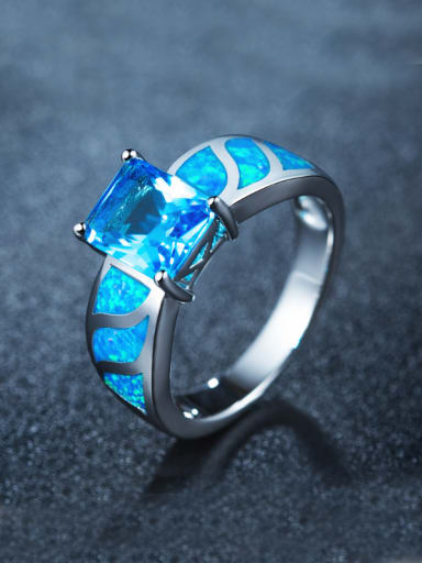 Women Opal Stone Multistone ring