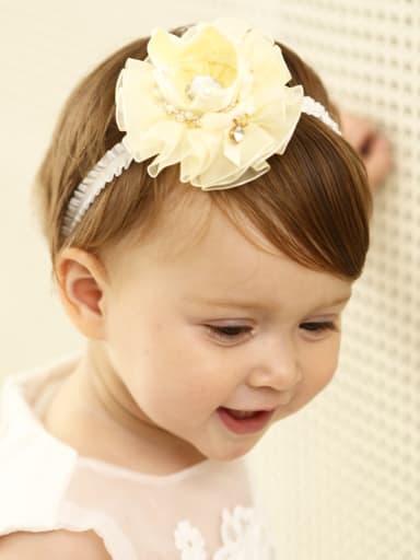 Flower Yarn bady headband
