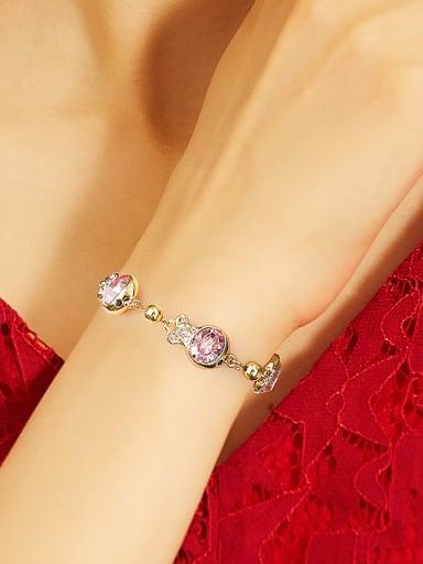 Fashion Swarovski Crystals Fish Bracelet