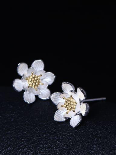 Fashionable Flower Women stud Earring
