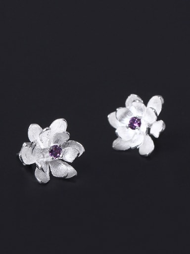 Small Flower Women stud Earring