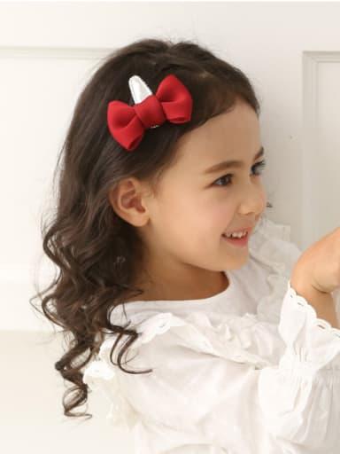 Color Bow Hair clip