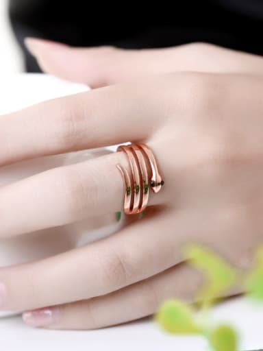 Personalized Creative Snake Multi-layer Ring
