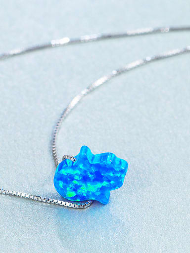Palm Opal Stone Necklace