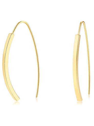 Stainless Steel With IP Gold Plated Fashion Stud Earrings