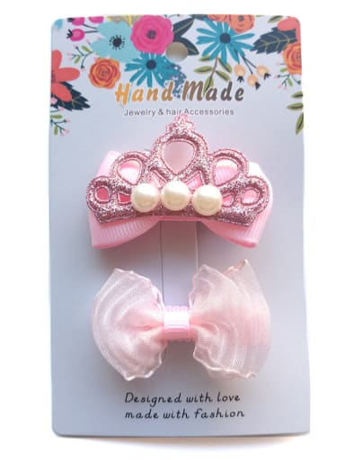 Wrapped Cloth Hair clip