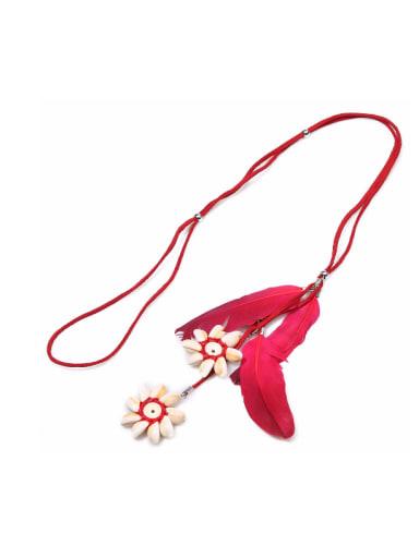 Shellfish Plumage Pendant Fashion Women Bracelet