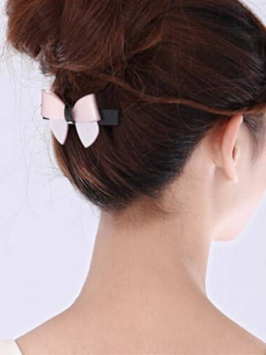 Alloy With Cellulose Acetate  Fashion Butterfly Barrettes & Clips