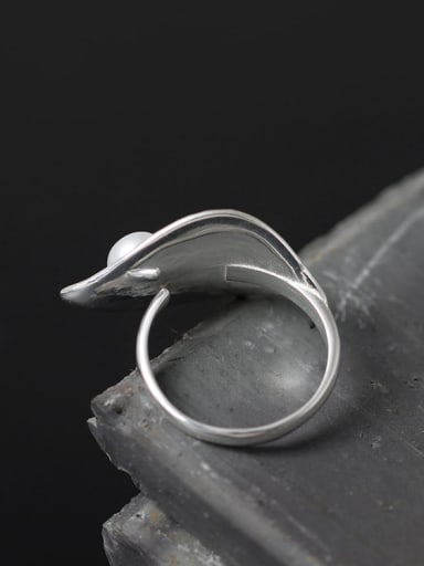 Creative Temperament Leaves Open Statement Ring