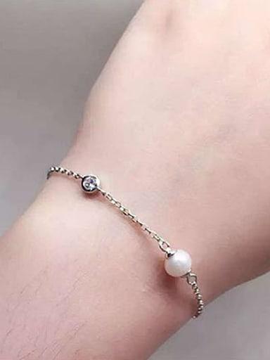 Simple Freshwater Pearl Bracelet