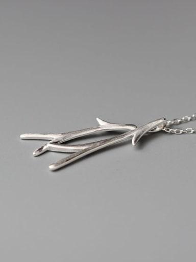 Matt Branch Pendant Women Necklace