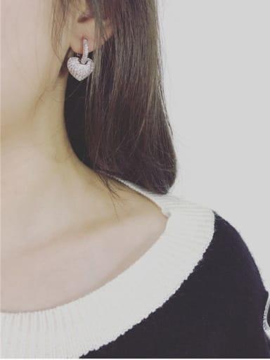 Micro Pave Shining Zircon Jewelry Set
