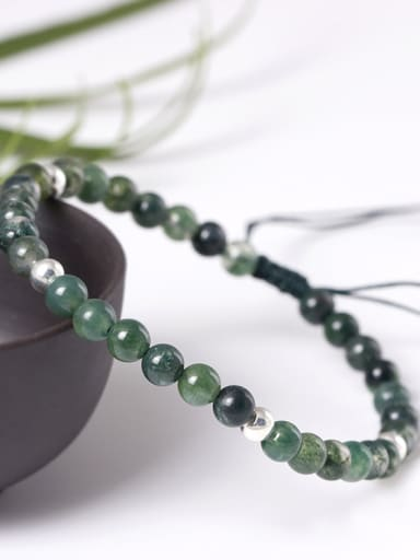 Simple Fresh Natural Agate Bracelet
