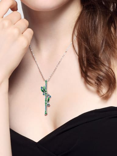 925 Silver Crystal Necklace