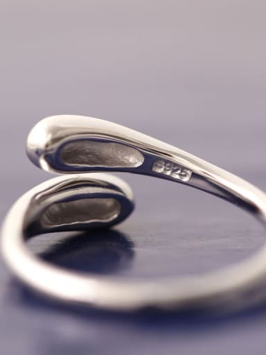 Simple Style Fashionable Opening Ring