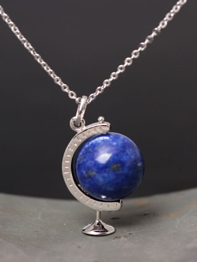 Exquisite Stone S925 Silver Necklace
