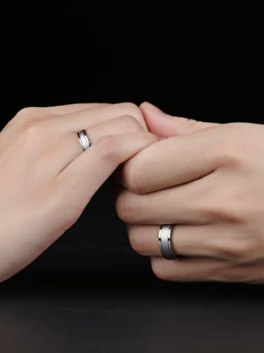 Stainless Steel With Simplistic Round Rings