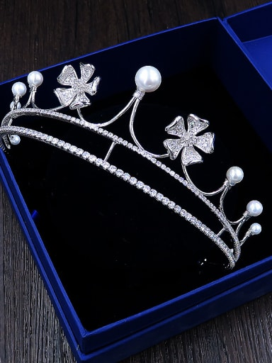 High Quality Crown Flower Shaped Wedding Hair Accessories