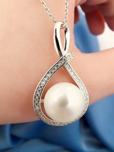 Freshwater Pearl Eight-shaped Necklace