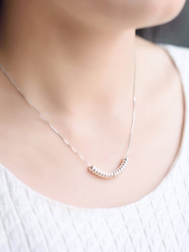 S925 Silver Fashion  Fresh Style Necklace Birthday Gift
