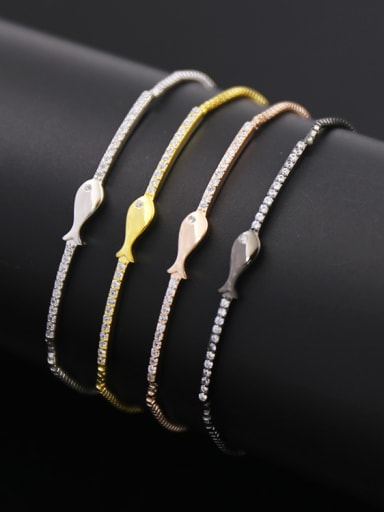 Fish Shaped Simple Bracelet