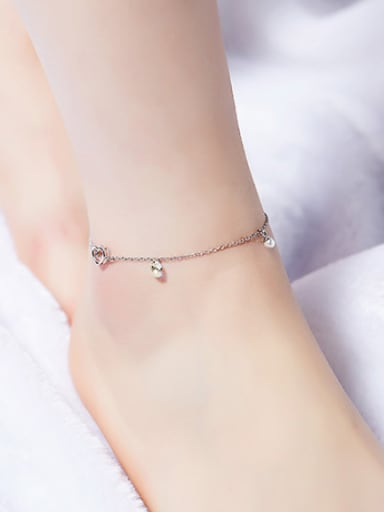All-match 925 Silver Anklet