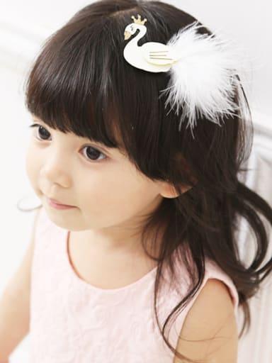 Kids' Swan Hair clip