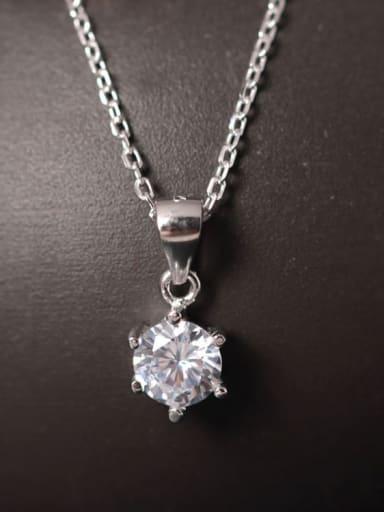 Shining Zircon Pendant Women Necklace