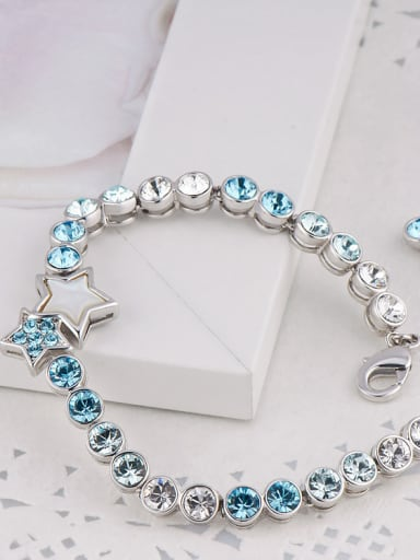 S925 Silver Star-shaped Bracelet