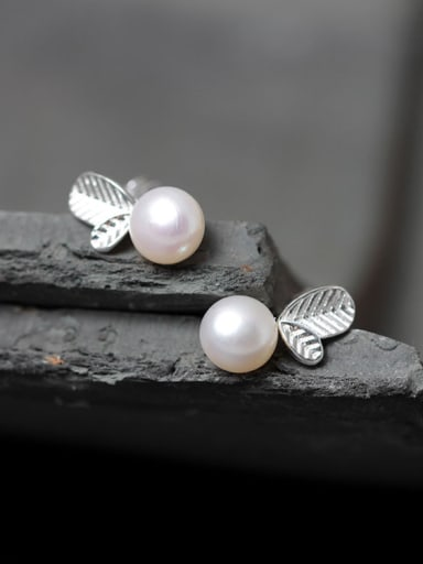 Freshwater Pearls S925 Silver Stud Earrings