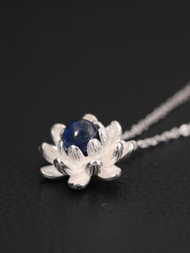 Elegant Flower Stone Women Necklace