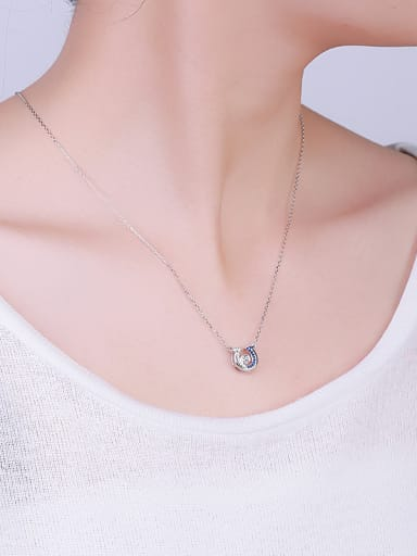 All-match U Shaped Necklace