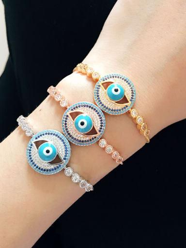 Personality Eye Shaped Bracelet