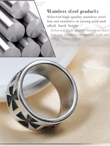Stainless Steel With Fashion Round Rings