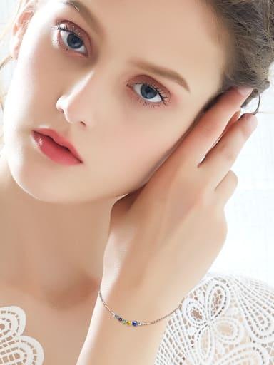2018 S925 Silver Crystal Bracelet