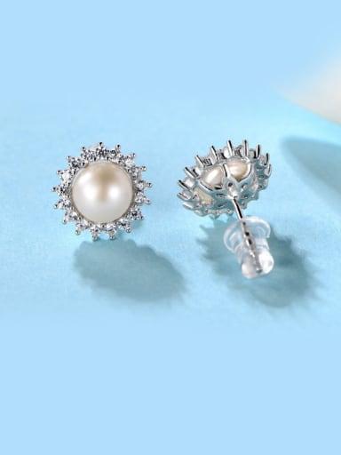 Freshwater Pearl stud Earring