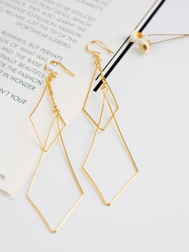 Women Exaggerated Handmade Geometric Shaped Earrings
