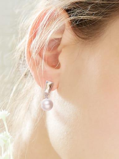 Fashion Freshwater Pearl Swarovski Crystal Stud Earrings