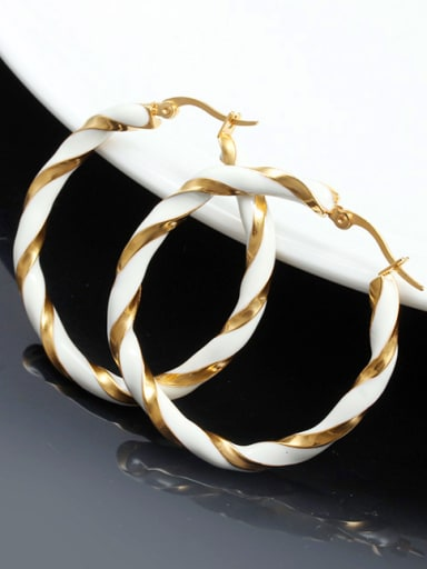 Elegant Gold Plated Star Shaped Glue Drop Earrings