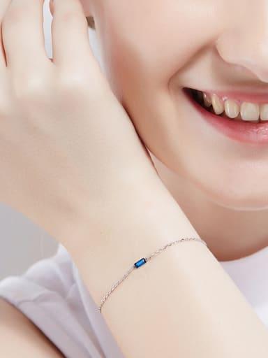 S925 Silver Swarovski Crystal Bracelet
