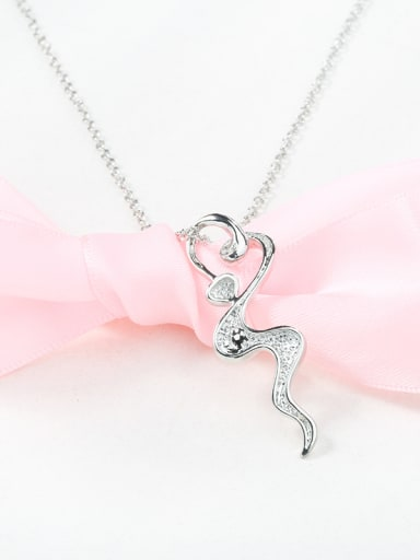 Women Personality Snack Shaped Necklace
