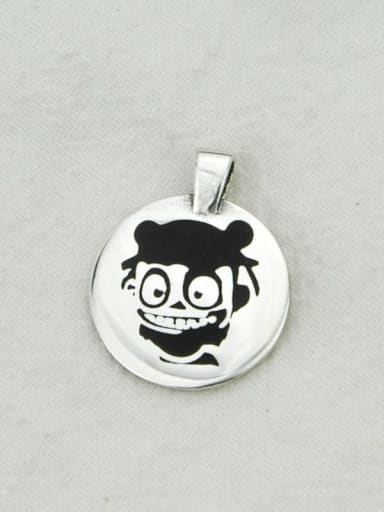 Vintage Sterling Silver With Vintage Cartoon Pendant Diy Accessories