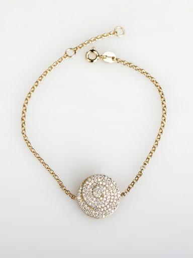 Minimalist design Rhinestone 925 silver Bracelets