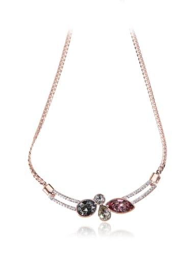 Unique personality  SWAROVSKI element crystal necklace